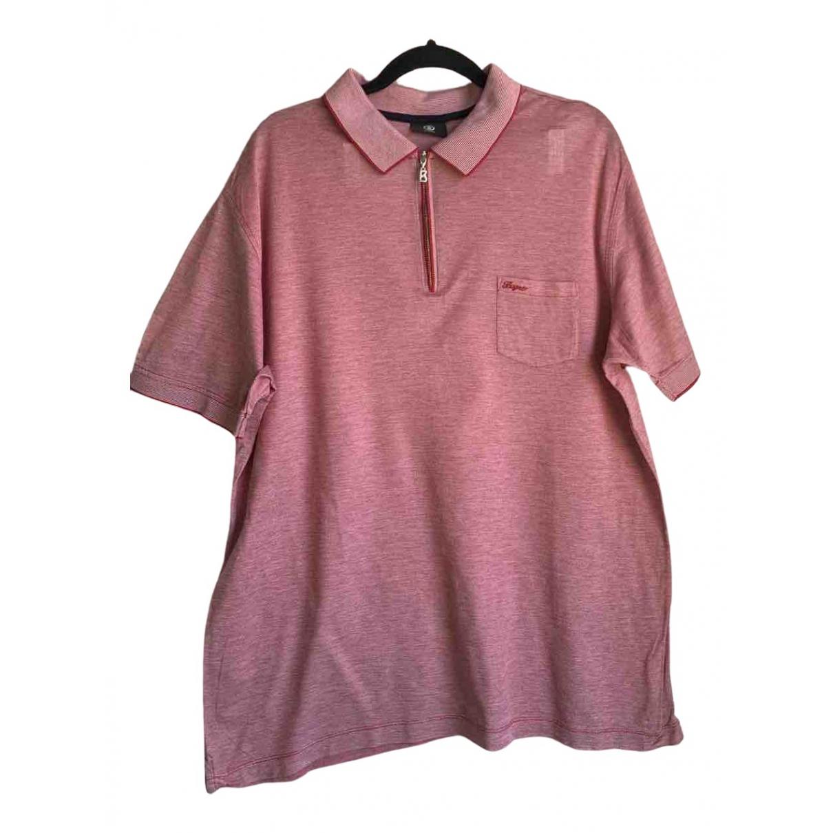 Bogner - Tee shirts   pour homme en coton - rose