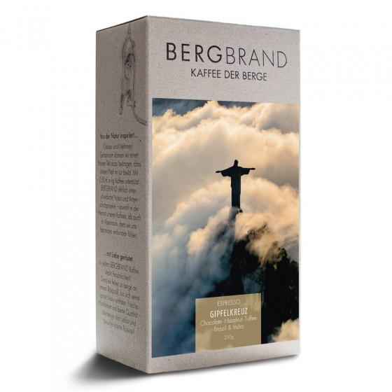 """Kaffeebohnen Bergbrand Kaffeerosterei """"Gipfelkreuz Espresso"""", 250 g"""