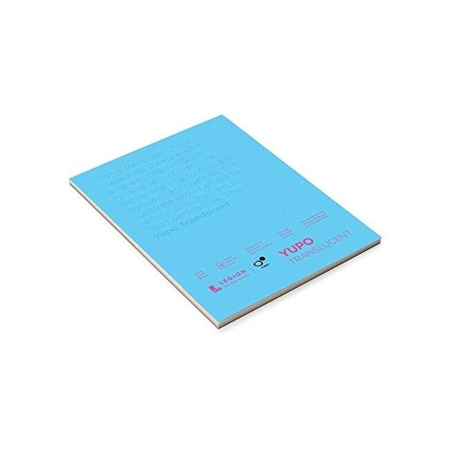 Legion paper 153trans912 yupo pads 9x12 104lb translucent 10 sheets