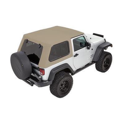 Bestop Trektop Pro Hybrid Soft Top (Pebble Beige Twill) - 54862-74