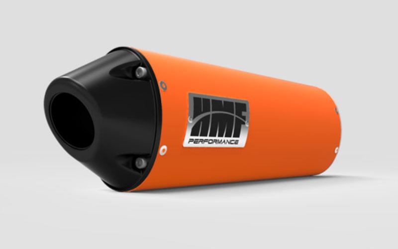HMF Racing 27413726883 Kawasaki Ninja 250 Slip On Exhaust Systems Orange