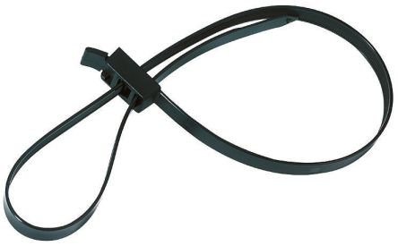 HellermannTyton , RTT750HR Series Black Nylon Cable Tie, 750mm x 13 mm