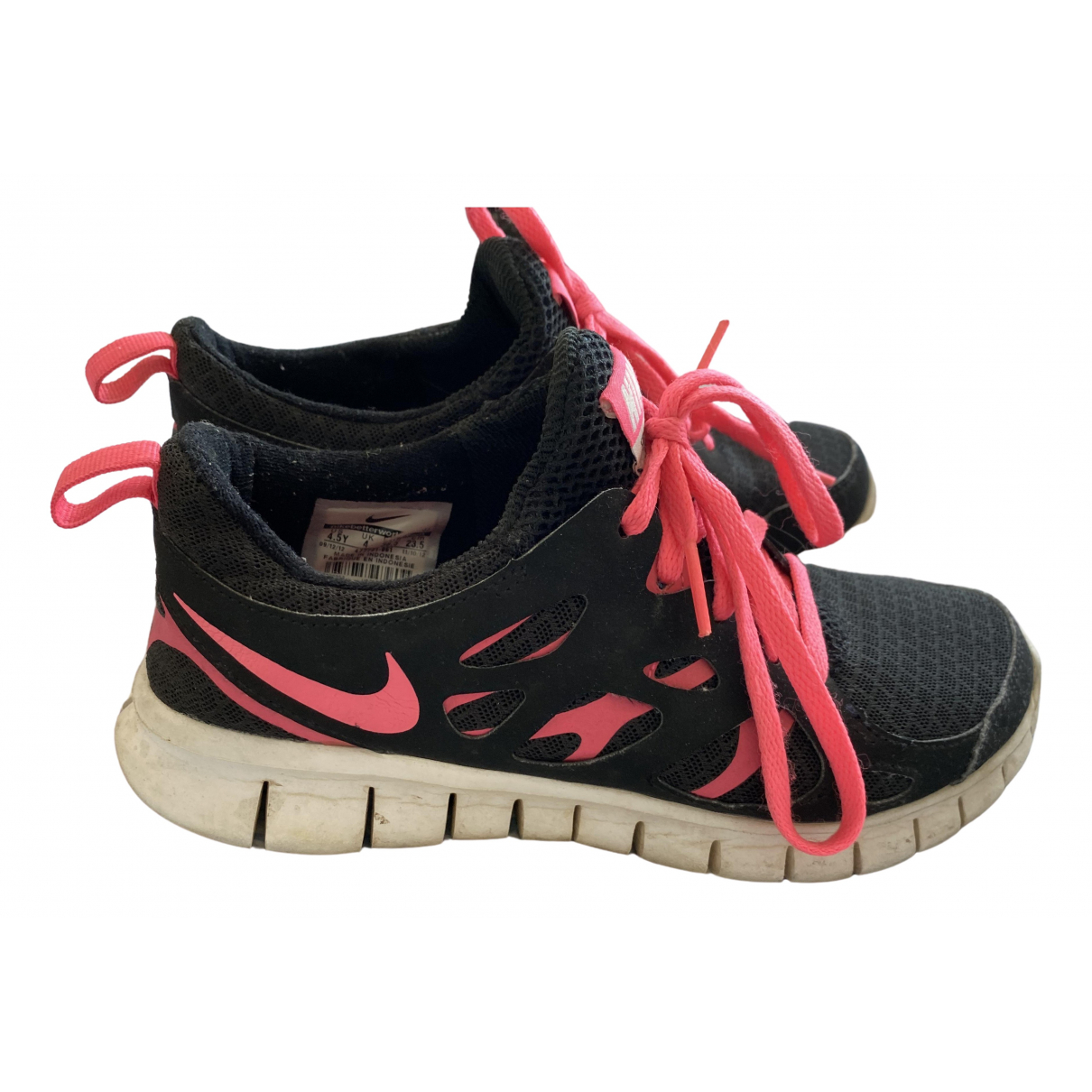 Nike Free Run Black Trainers for Women 36.5 EU