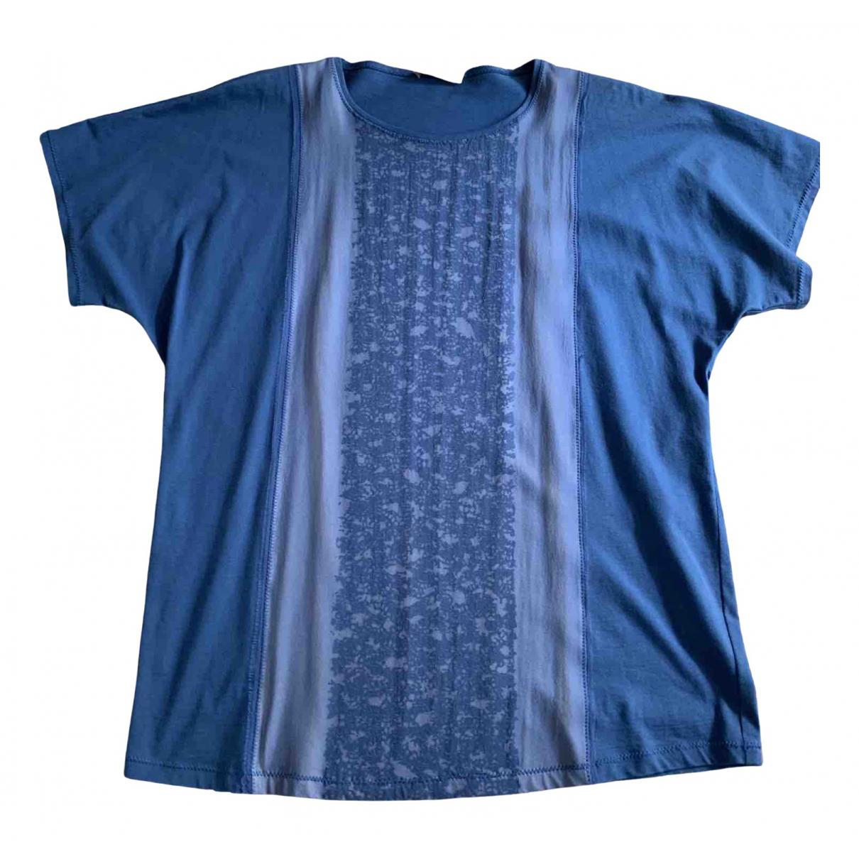 Bottega Veneta N Blue Cotton  top for Women 40 IT