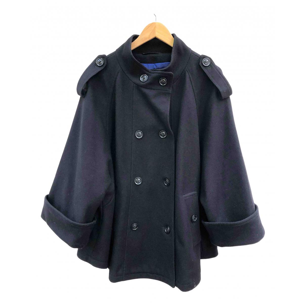 Basler - Manteau   pour femme en laine - noir