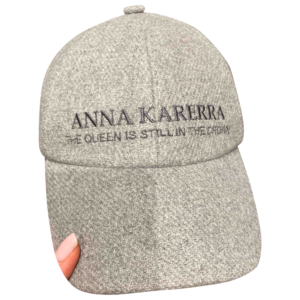 Loro Piana - Chapeau   pour femme en cachemire - gris