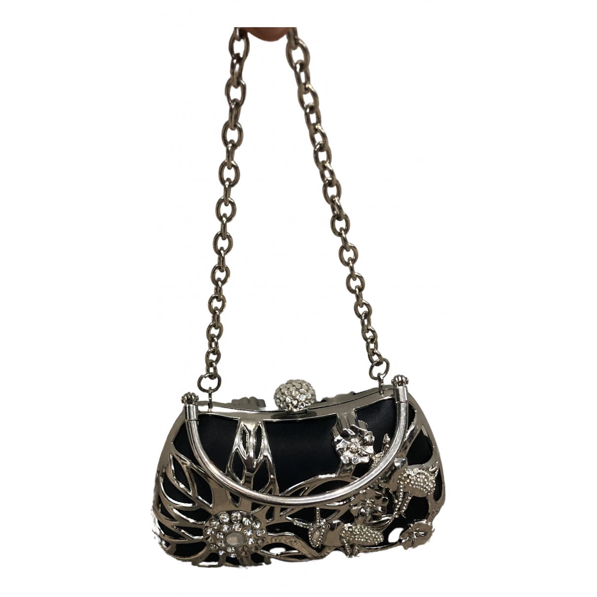 Philosophy Di Alberta Ferretti N Black Metal Clutch bag for Women N