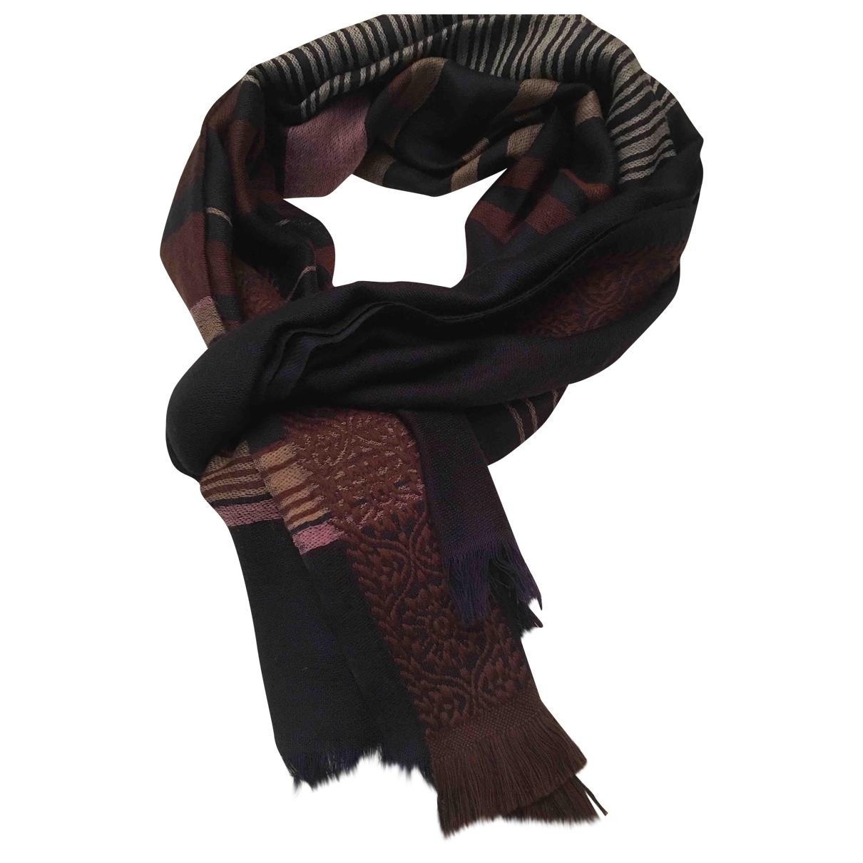 Maliparmi \N Schal in  Bordeauxrot Wolle