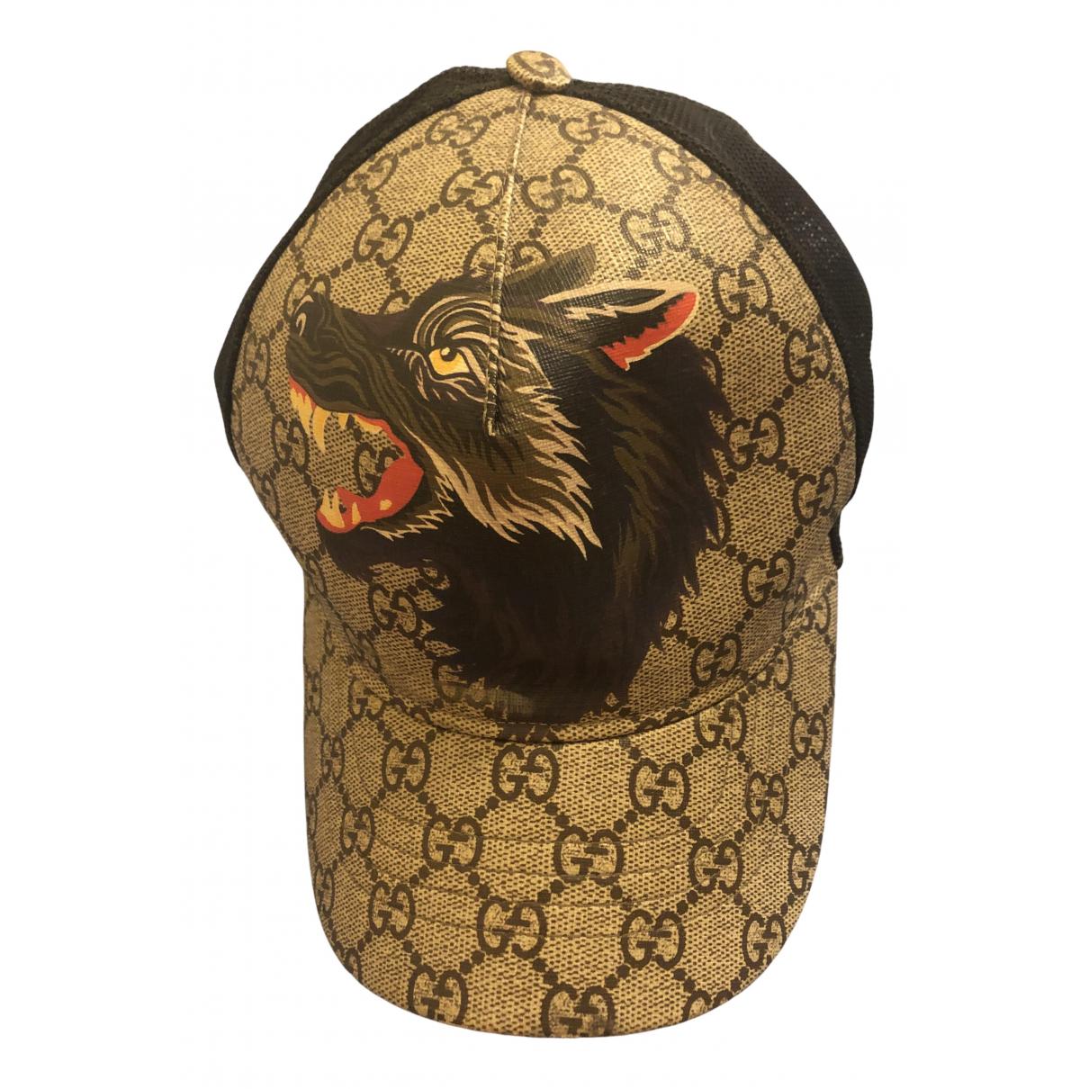 Gucci - Chapeau   pour femme en toile