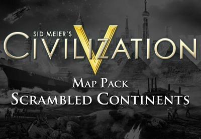 Sid Meiers Civilization V - Scrambled Continents Map Pack DLC Steam CD Key