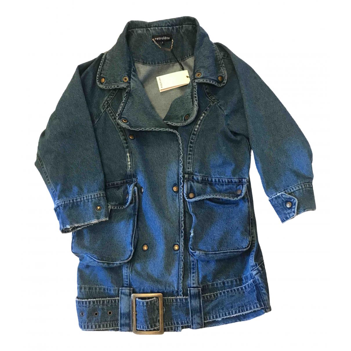 Retrofete \N Kleid in  Blau Denim - Jeans