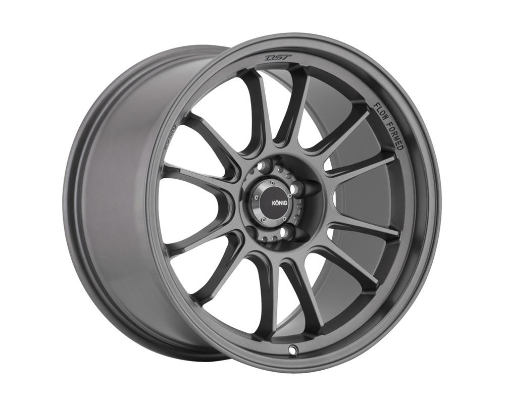 Konig Hypergram Matte Grey Wheel 17x8 5x108 40
