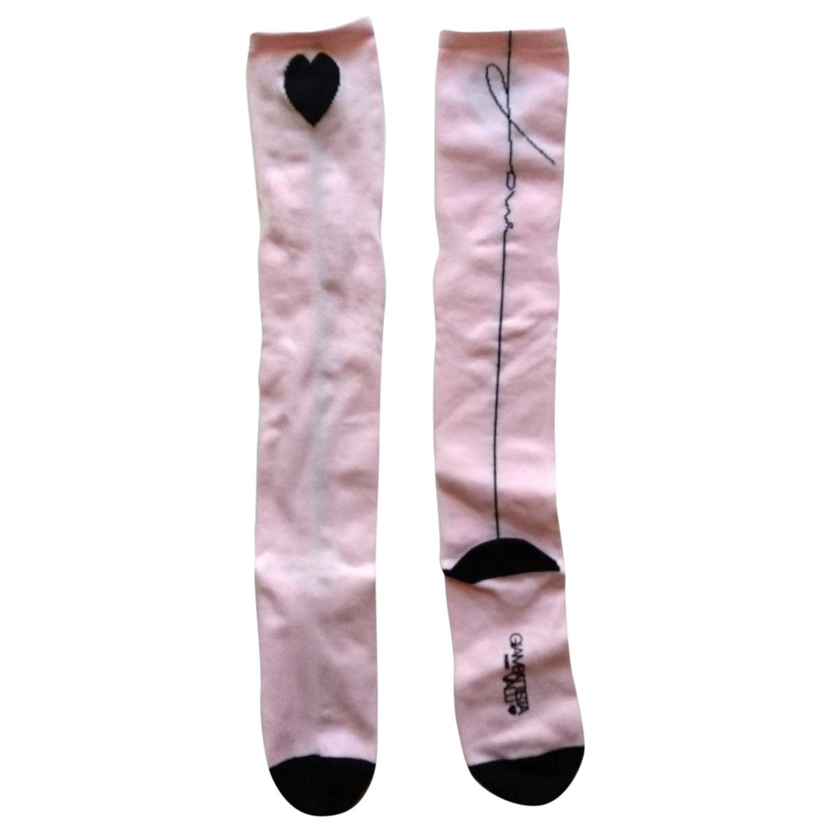 Giambattista Valli X H&m \N Pink Cotton Shorts for Women One Size UK