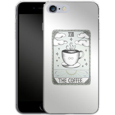 Apple iPhone 6s Plus Silikon Handyhuelle - The Coffee von Barlena