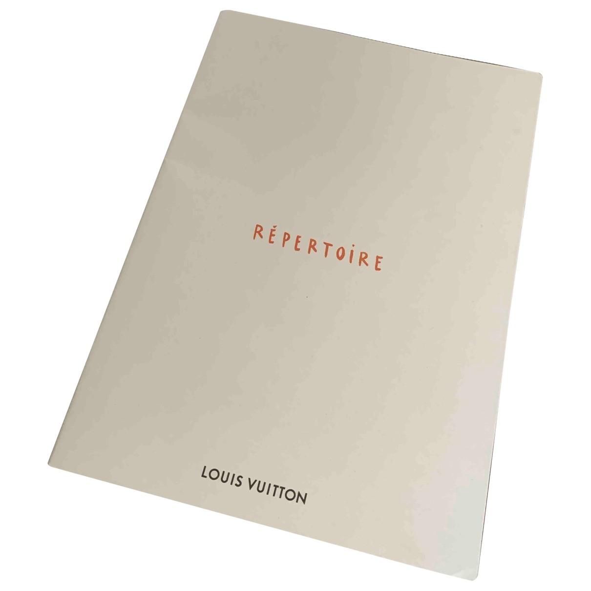 Louis Vuitton - Objets & Deco   pour lifestyle en toile - beige