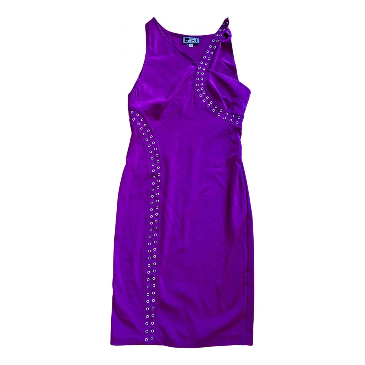 Gianni Versace - Robe   pour femme - violet