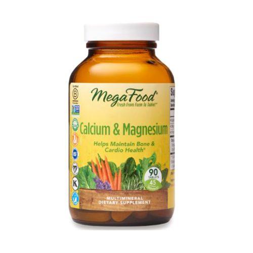 Calcium & Magnesium 90 Tabs by MegaFood