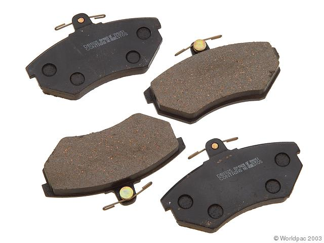 PBR Disc Brake Pad Volkswagen Front