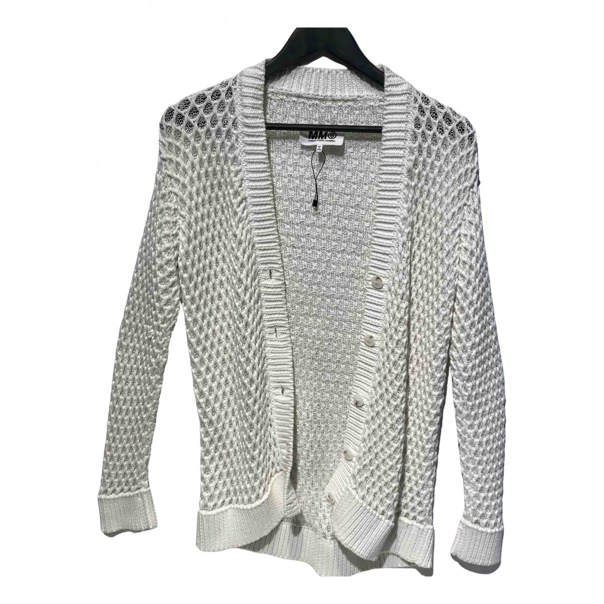 Mm6 \N Ecru Cotton Knitwear for Women M International