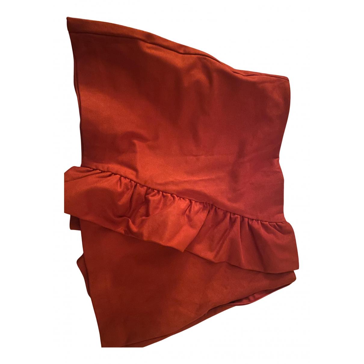Zara \N Rocke in  Rot Baumwolle - Elasthan