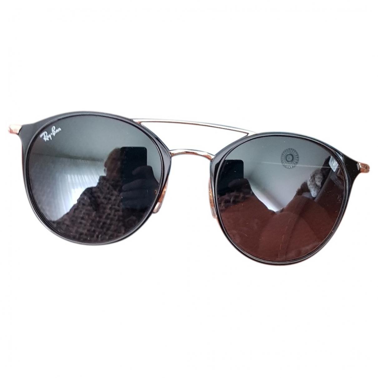 Ray-ban \N Sonnenbrillen in  Schwarz Metall