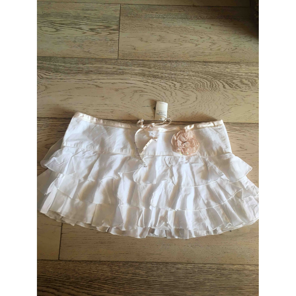 Abercrombie & Fitch \N White Cotton skirt for Women S International