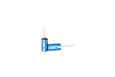RS PRO 4.7F Supercapacitor EDLC -20 %, +80 % Tolerance 2.5V dc (6400)