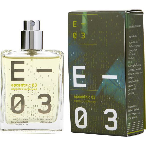 Escentric 03 - Escentric Molecules Eau de Toilette Spray 30 ml