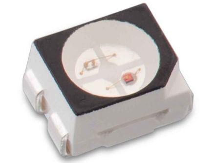 Wurth Elektronik 2.4 V Green & Red LED 3528 (1411) SMD,  WL-SBTW 150141SV73110 (2000)