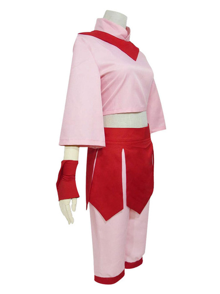 Milanoo Avatar The Last Airbender Ty Lee Cosplay Costume