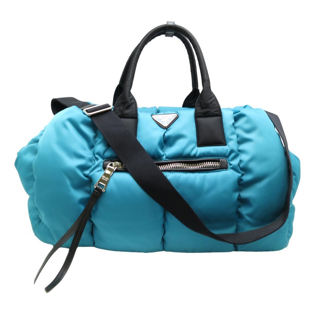 Prada N Blue Cloth handbag for Women N