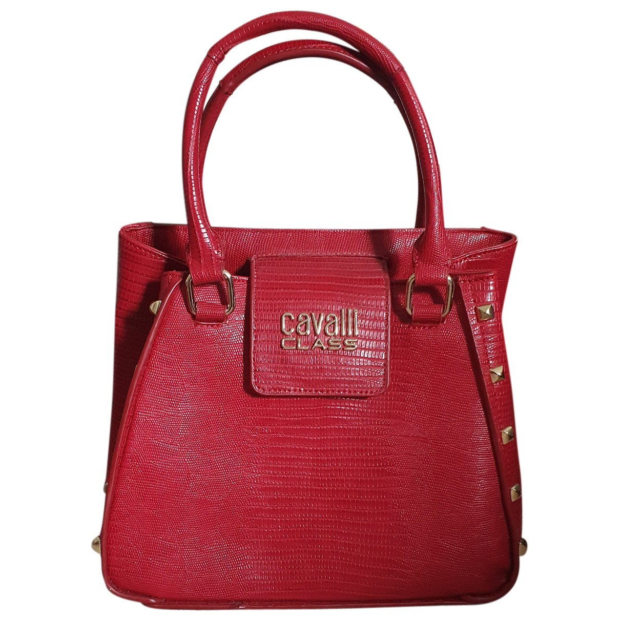 Class Cavalli \N Handtasche in  Rot Polyester