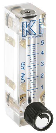 Key Instruments Variable Area Flow Meter, 0.4 L/min → 5 L/min, FR2000 Series