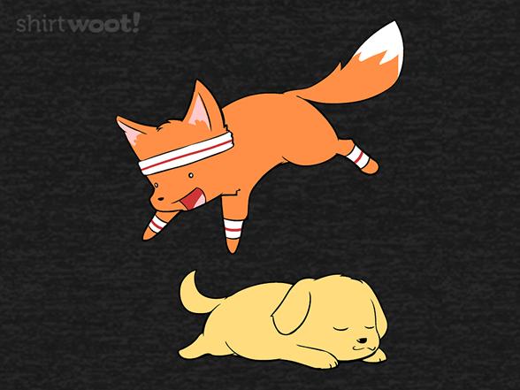 The Quick Brown Fox Remix T Shirt