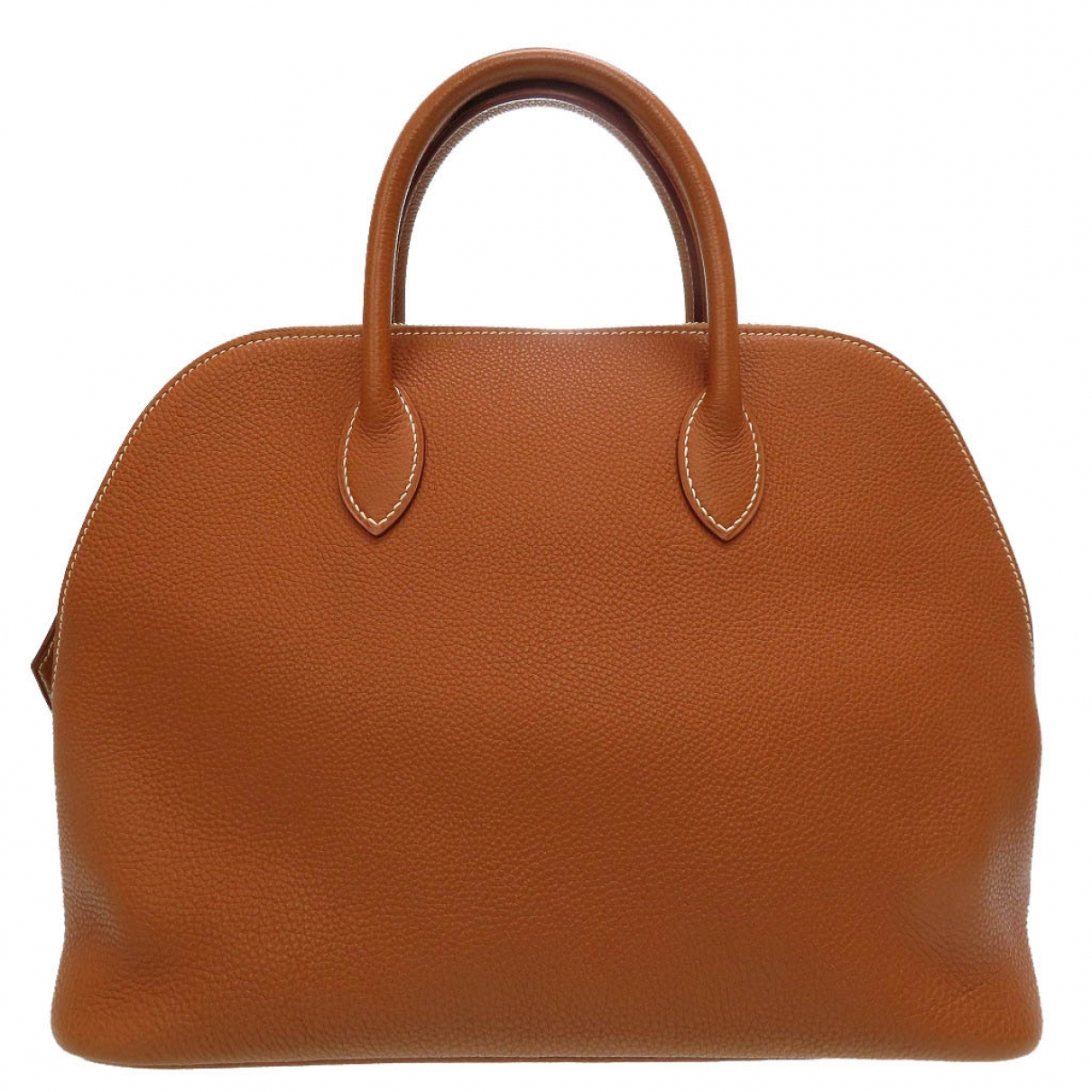 Hermes - Sac a main Bolide pour femme en cuir - marron
