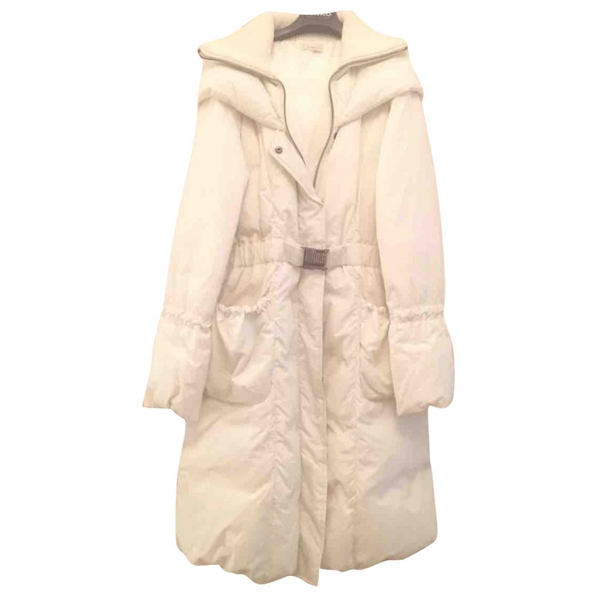 Pinko \N White coat for Women 40 FR