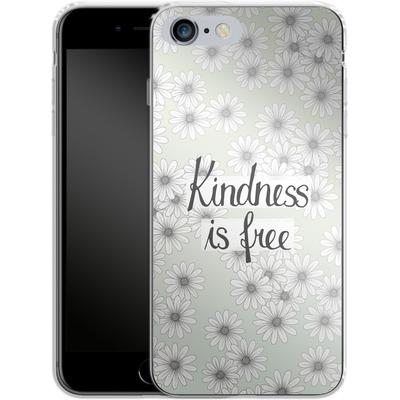 Apple iPhone 6 Plus Silikon Handyhuelle - Kindness is Free von Barlena