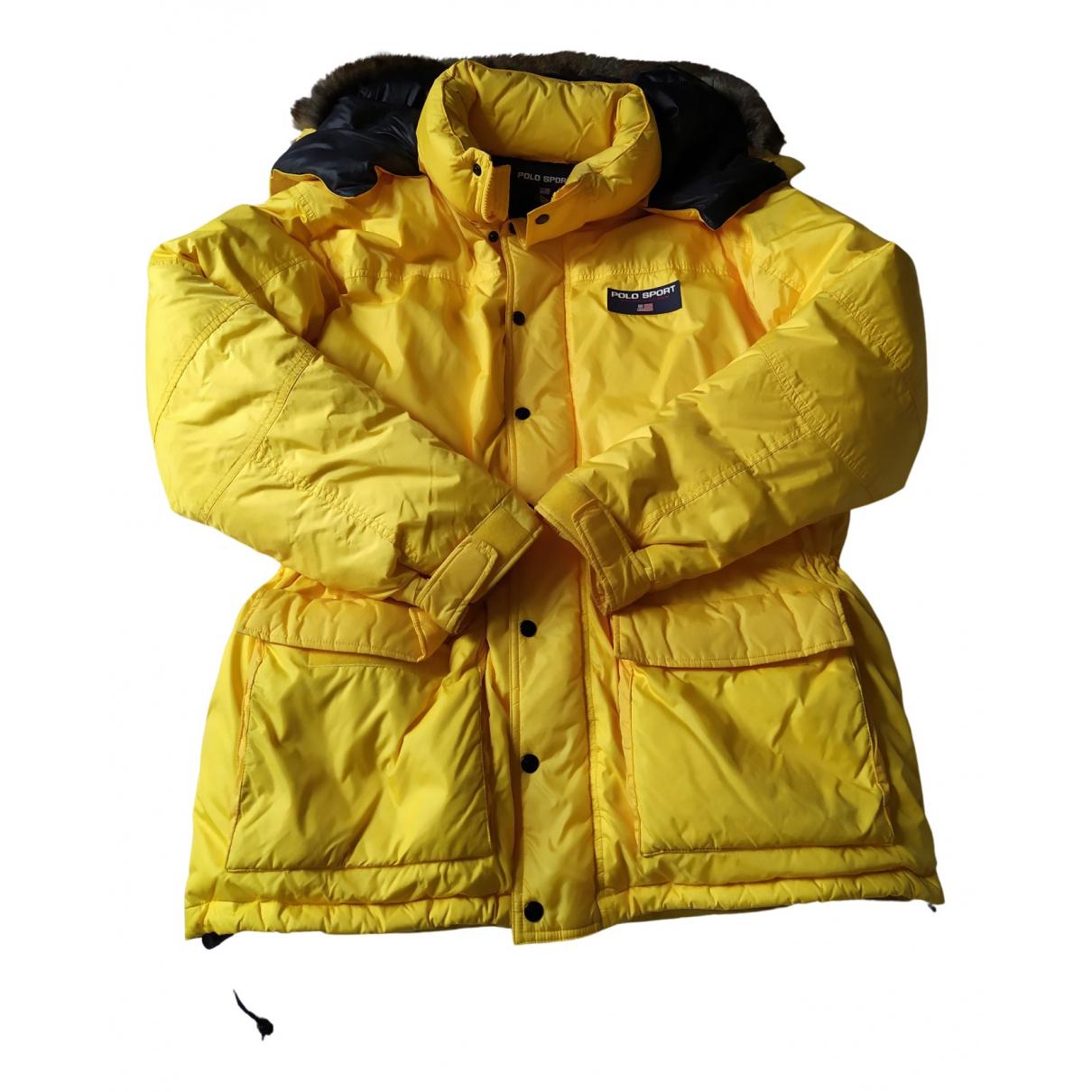 Polo Ralph Lauren \N Jacke in  Gelb Polyester