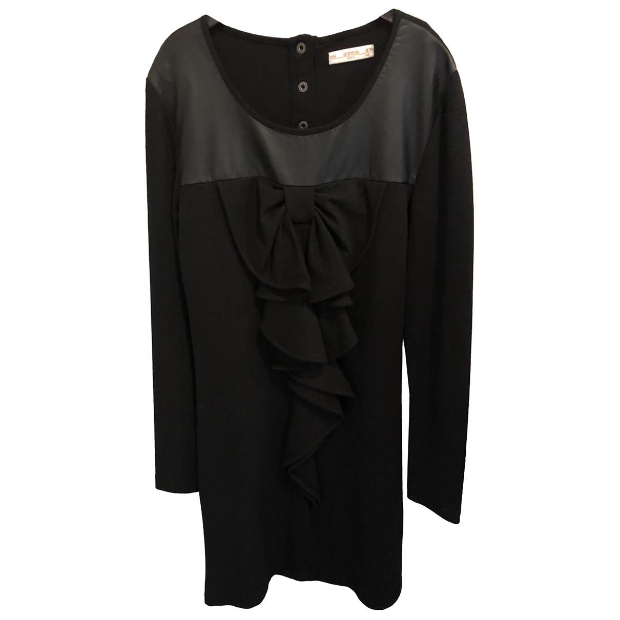 Supertrash \N Kleid in  Schwarz Viskose