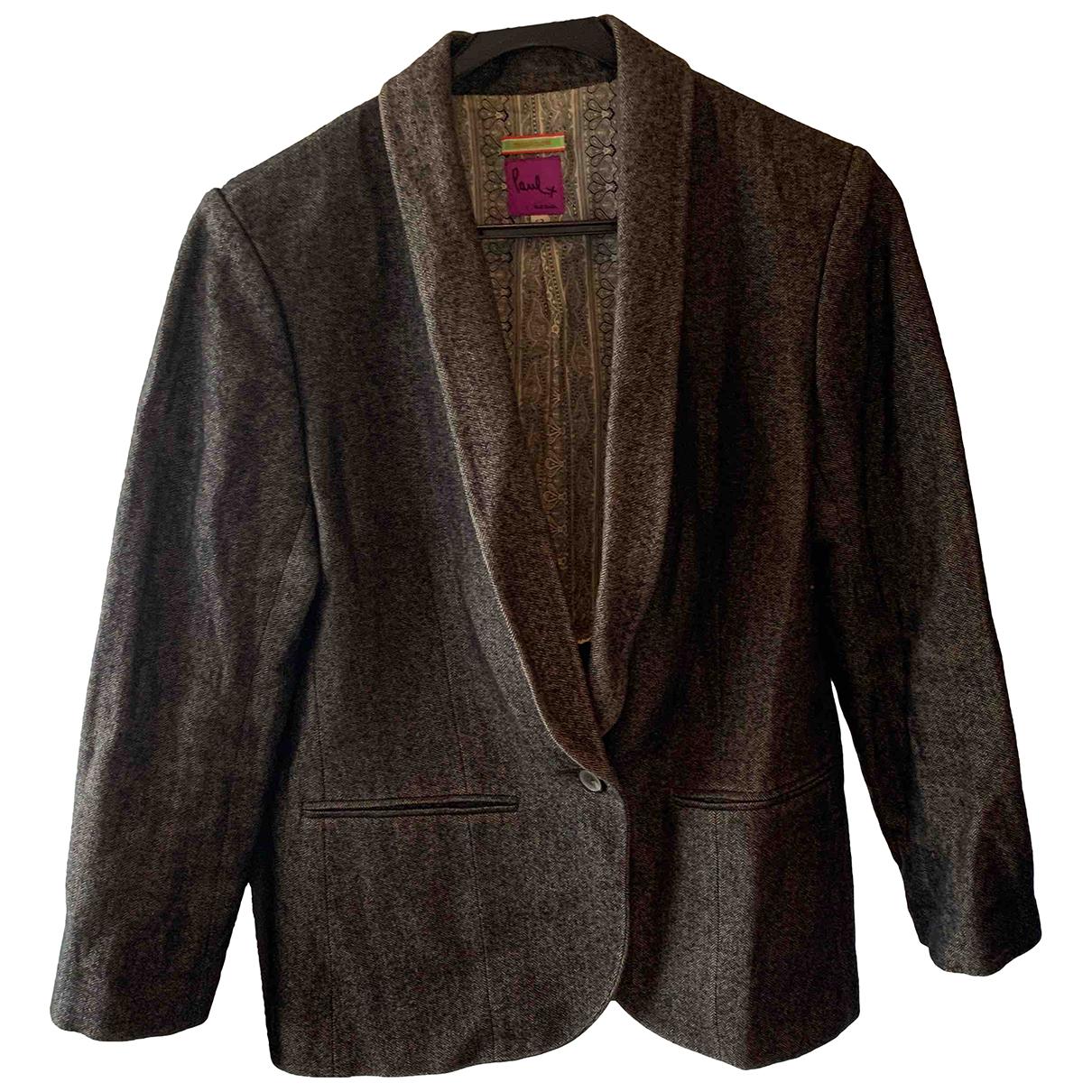 Paul Smith - Veste   pour femme en coton - marron