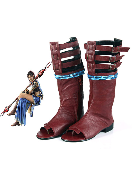 Milanoo Final Fantasy XIII Oerba Yun Fang Halloween Cosplay Shoes