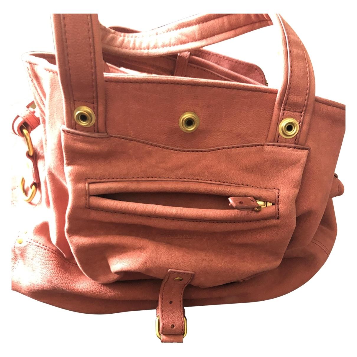 Jerome Dreyfuss Billy Pink Leather handbag for Women \N