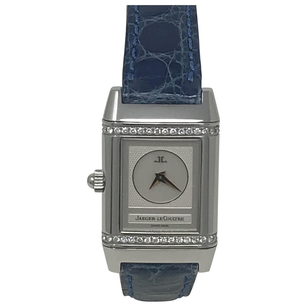Jaeger-lecoultre Reverso Duetto Uhr in  Silber Stahl