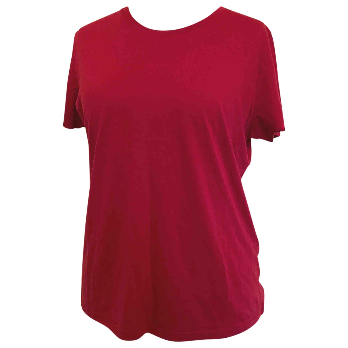 Vince \N Red Cotton  top for Women XL International