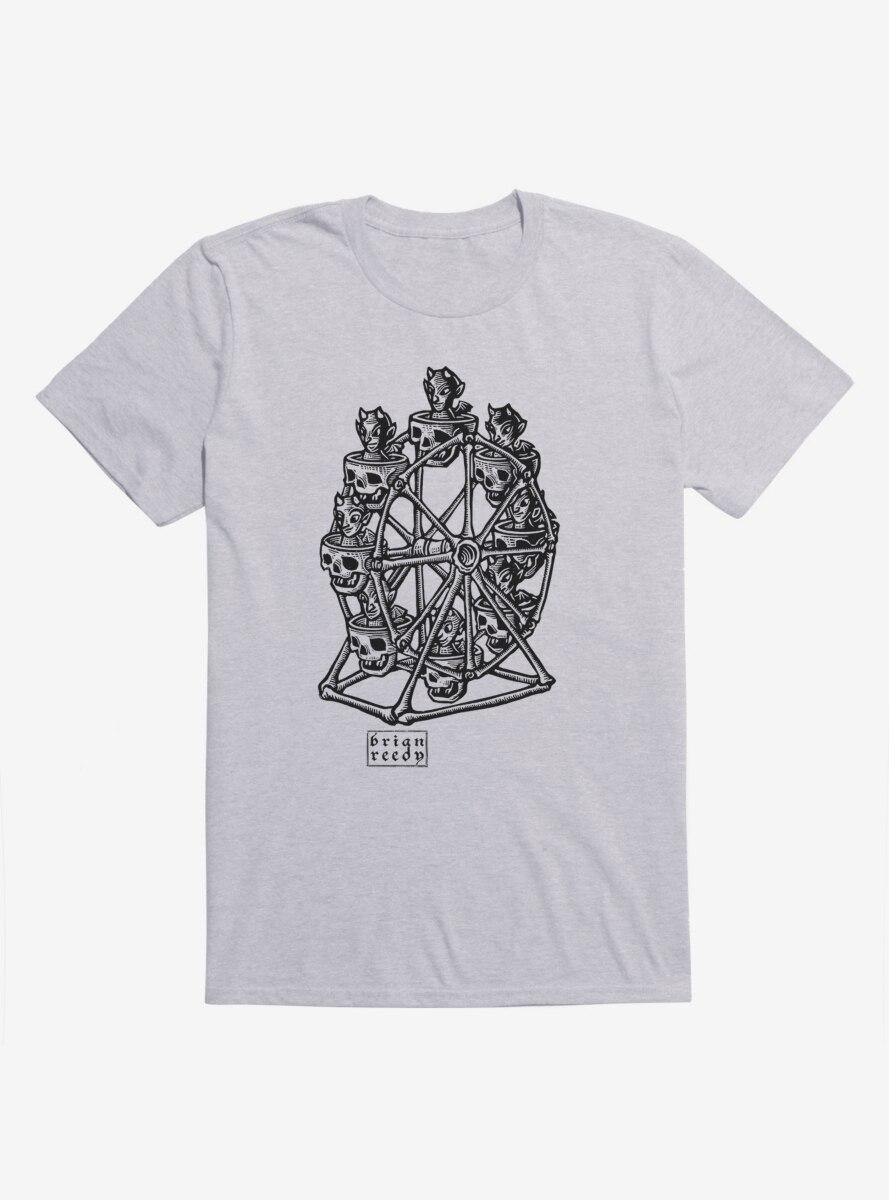 BL Creators: Brian Reedy Skull Devil Wheel T-Shirt