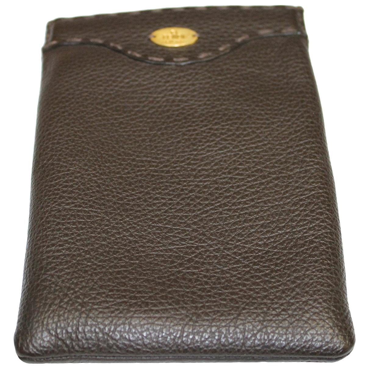 Fendi - Accessoires   pour lifestyle en cuir - marron