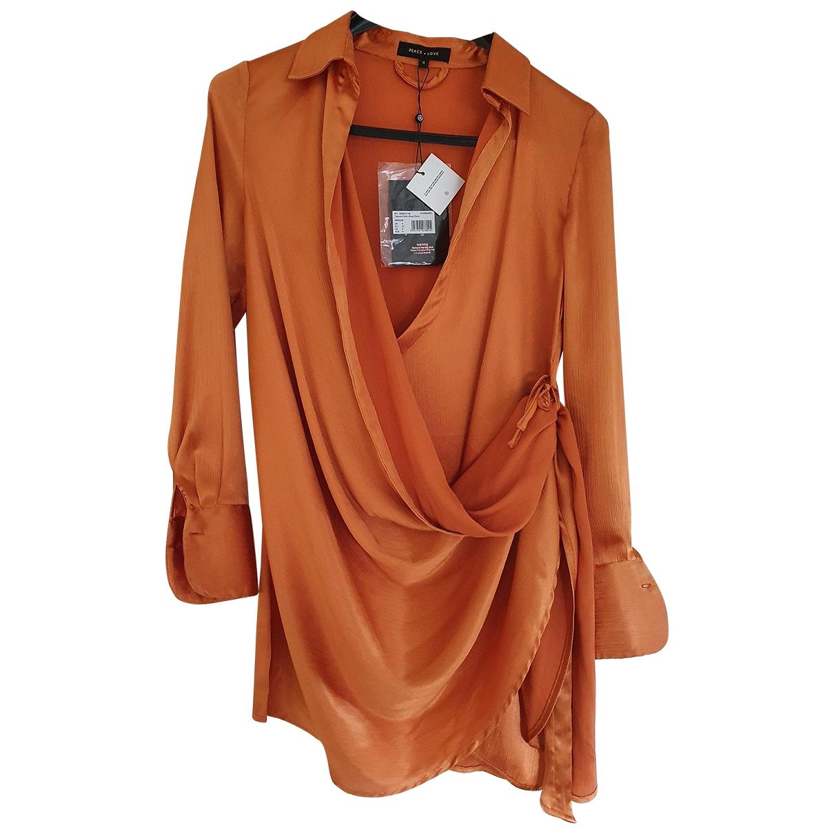 - Robe   pour femme - orange