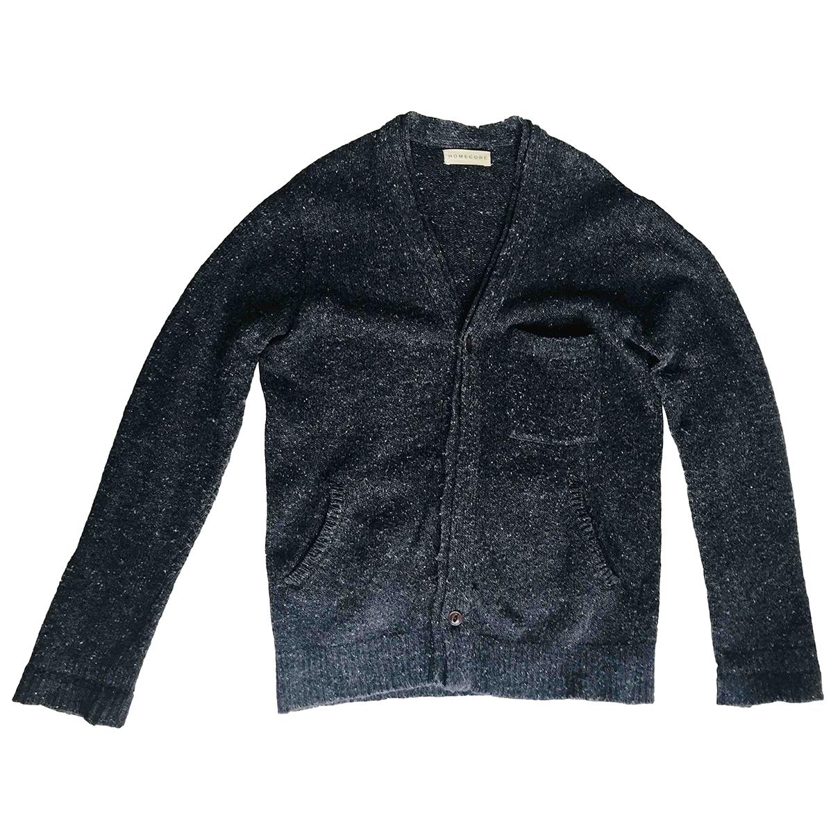 Homecore - Pulls.Gilets.Sweats   pour homme en laine - anthracite
