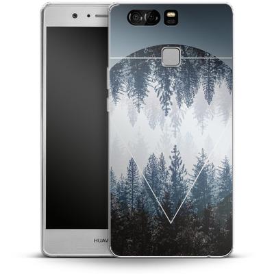 Huawei P9 Silikon Handyhuelle - Woods 4 von Mareike Bohmer
