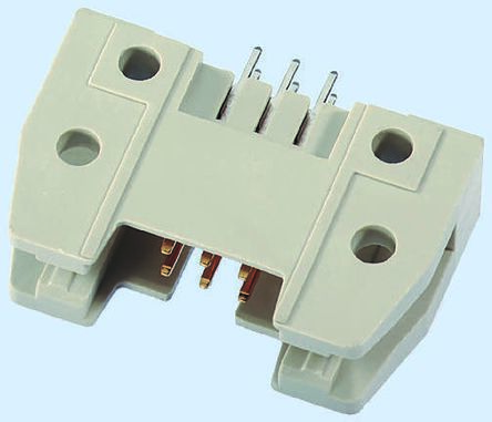 TE Connectivity Right Angle IDC Connector, Socket, 50 Way